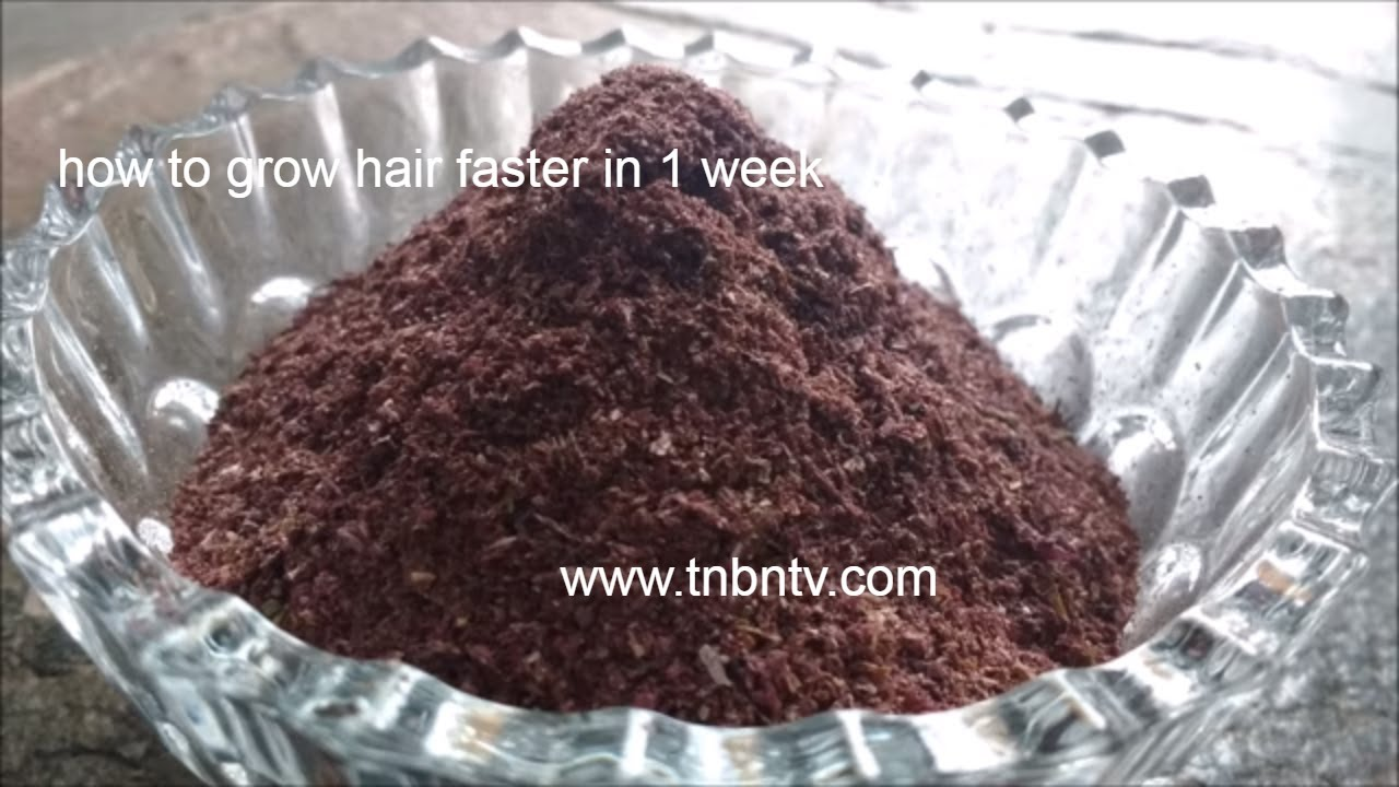 How To Make Hibiscus Powder How To Grow Hair Faster In 1 Week