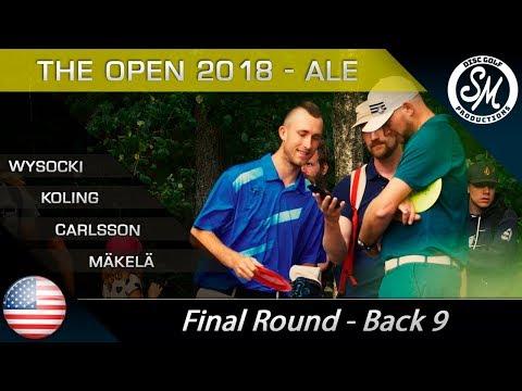 The Open 2018   Final Round Back 9   Wysocki, Koling, Carlsson, Mäkelä
