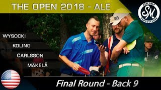 The Open 2018 | Final Round Back 9 | Wysocki, Koling, Carlsson, Mäkelä