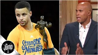 Download Don't forget Steph Curry won two MVPs before Kevin Durant got there - Richard Jefferson | The Jump Mp3 and Videos