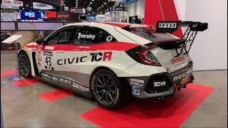 Epic Honda Display at SEMA 2018