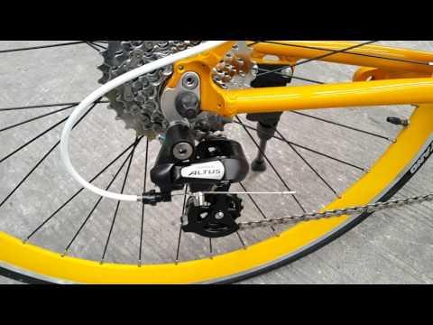 รีวิวจักยานไฮบริดสำหรับคนเมือง ไล่เสือหมอบสบาย TrinXP400  ราคา6200 บาท ลด200หรือแถมหมวกกันน๊อก