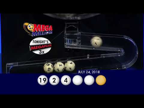 MegaMillions Drawing 07 24 2018