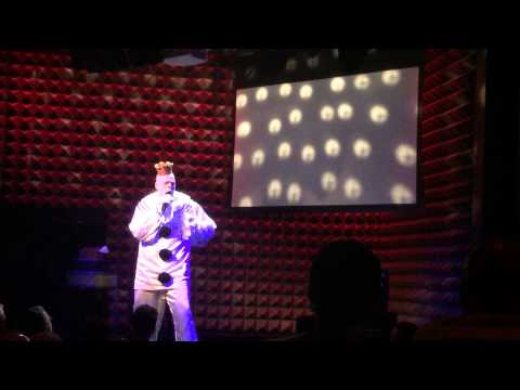 Puddles tribute to Costner at Joe's Pub