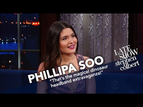 Thumbnail: Phillipa Soo Lost Her Cool When Julie Andrews Came To 'Hamilton'