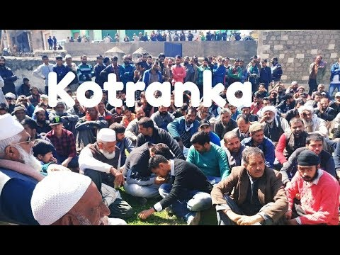 friends ones again strong protest and conference people's of kotranka