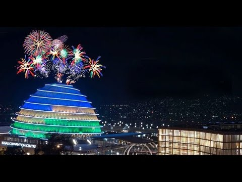 FIREWORKS AS RWANDA USHERS IN 2017!