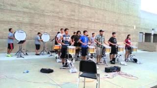 GV Drumline run through #3