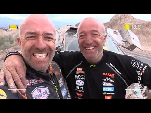 Zware etappe 12 voor gebroeders Coronel - RTL GP: DAKAR