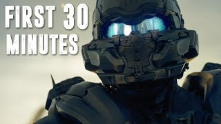 Halo 5 Gameplay - First 30 Minutes of the Campaign - SPOILERS