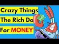 6 Weird Things The Rich Do (That The Poor Don't)