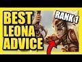 THE BEST LEONA ADVICE FROM RANK 1 LEONA! | Leona Season 9 Coaching