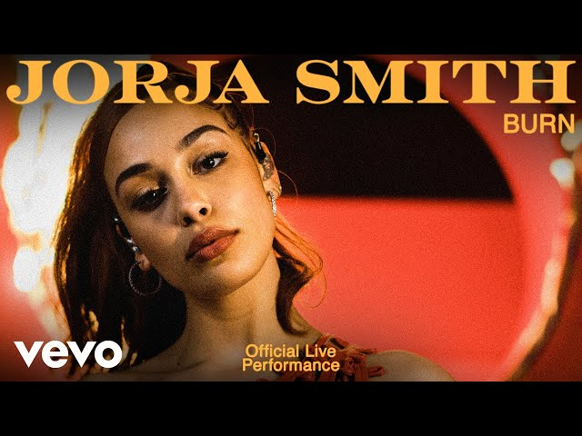 Jorja Smith - Burn (Live)   Vevo Official Live Performance