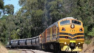 Adelaide Hills Rail Action - January/February 2016