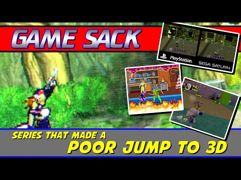 Series that Made a Poor Jump to 3D - Game Sack