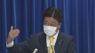 """【ノーカット】""""新型コロナ"""" 加藤厚労大臣会見"""