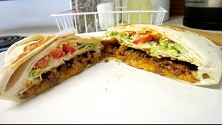 Homemade Taco Bell's Crunch Wrap Supreme ♥