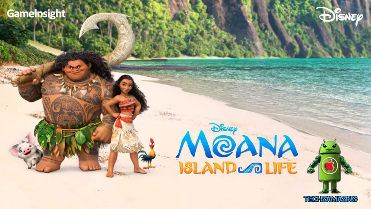 Animated Watch Wallpaper For Mobile Moana Island Life Ios Android Gameplay Hd Youtube