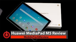 Huawei MediaPad M5 Review - Premium Android Tablet for a Nice Price