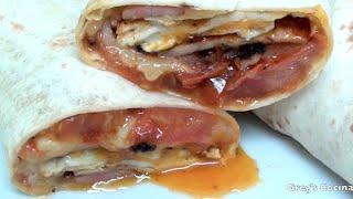 Bacon And Egg Taco Wrap Recipe