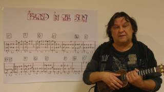 """This is my fingerstyle instrumental version of the beautiful """"island in sun"""" by harry belafonte."""