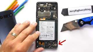 Taking apart that one phone... we already forgot existed?