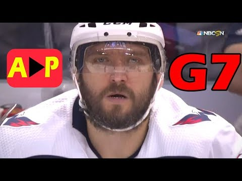 Washington Capitals vs Tampa Bay Lightning – May. 23, 2018 | Game 7 | Stanley Cup 2018. (HD)