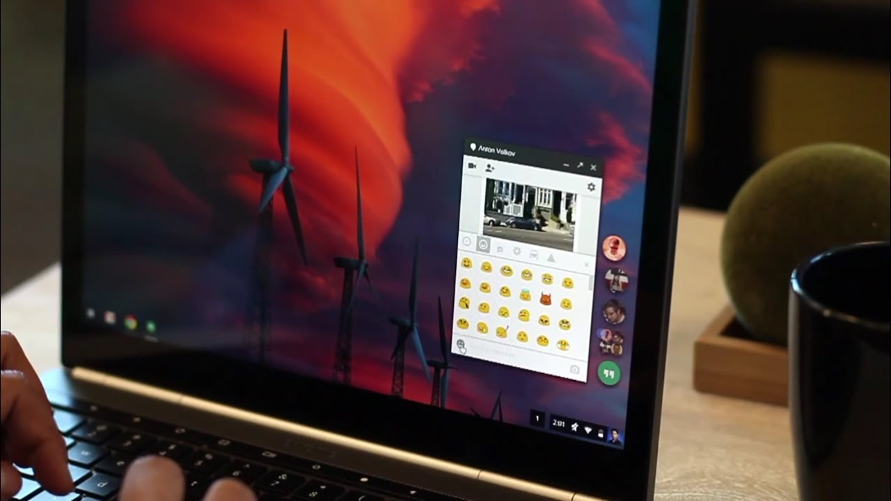 Hangouts Comes to the Desktop with a Chat Heads-Style Interface