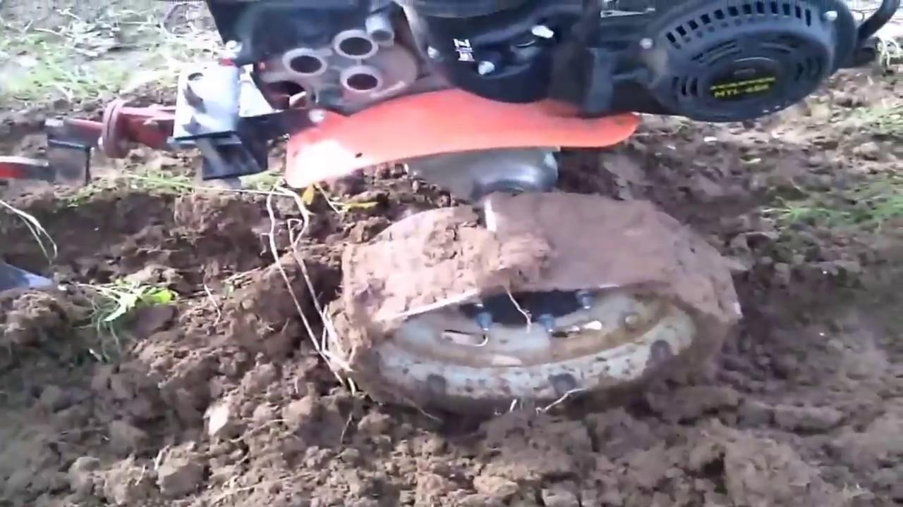 Грунтозацепы для мотоблока из автомобильных дисков своими руками видео 166