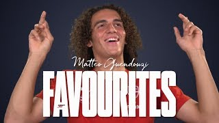 11 things you didn't know about Matteo Guendouzi | Favourites | Episode 1