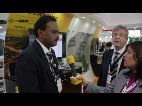 Full coverage of Caterpillar at Middle East Electricity 2015