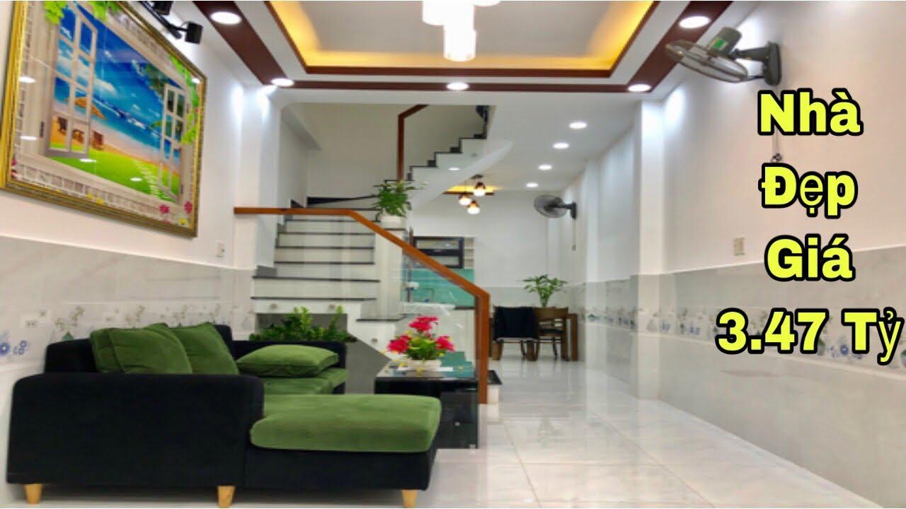 Bán nhà Gò Vấp dưới 3 tỷ| Căn nhà nhỏ tại đường Quang Trung P10 thiết kế cực xinh xắn|giá rẻ 3.47 tỷ