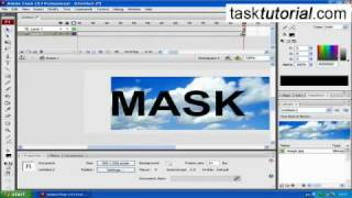 Clipping Mask Animation - Super Easy Flash Tutorial