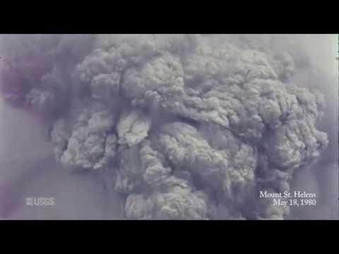 Mount St. Helens Erruption –36 Years Ago Today