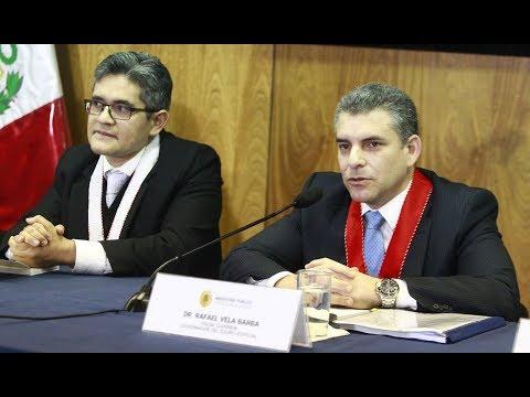 José Domingo Perez pide más protección para él y su familia