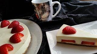 PurzelPfund präsentiert: Low Carb No-Bake-Cake Erdbeer Zitrone