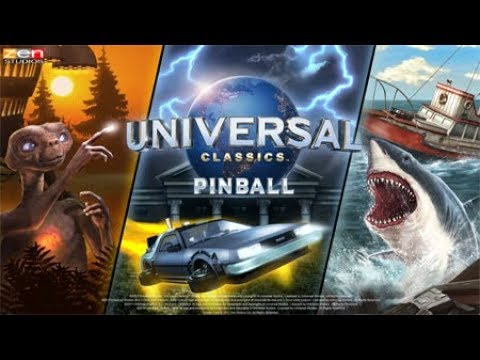 Lets Play Pinball FX3 Universal Classics Tables - Back to the Future, JAWS, ET - Xbox One