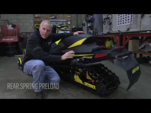 Setting Up Your Ski-Doo rMotion Rear Suspension