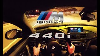 2018 BMW 440i M PERFORMANCE - ORGASMIC TUNNEL EXHAUST CRACKLE SOUND POV DRIVING