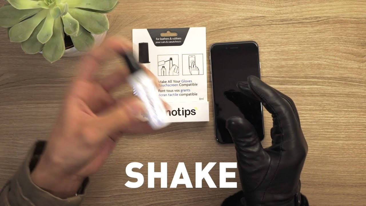 Leather gloves that work with iphone - Diy Touchscreen Gloves Leather Tutorial Nanotips
