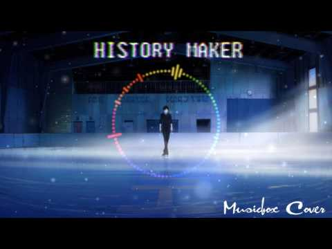 [Music box Cover] Yuri!!! on Ice - History maker