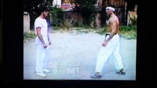 Trening Karate pozadi kukata 1987 god 2.del.