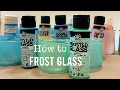 Frost Glass Or Wine Glasses For Painting
