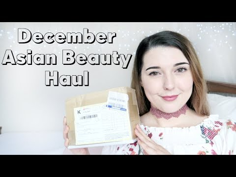December Asian Beauty Haul