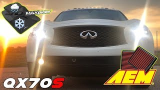 Maxpider, AEM & other small mods QX70S FX50S FX35