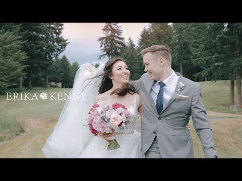 Erika + Kenny: Wedding Film at Canterwood Golf & Country Club in Gig Harbor, WA
