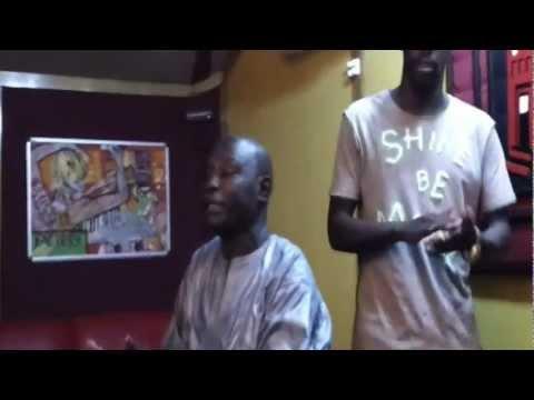 Fata El Preisidenté et  Ndiouga Dieng de l'Orchestra Baobab