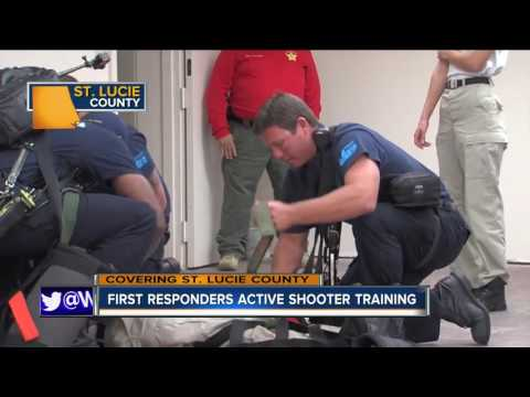First responders active shooter training