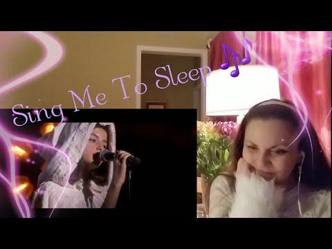 Angelina Jordan REACTION Alan Walker featuring Angelina (Sunday & Sing Me To Sleep - Live)