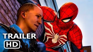 PS4 - Marvel's Spider Man  Silver Lining – Just the Facts Trailer (2018)